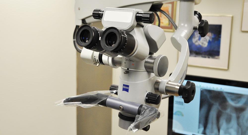 picture of endodontic microscope